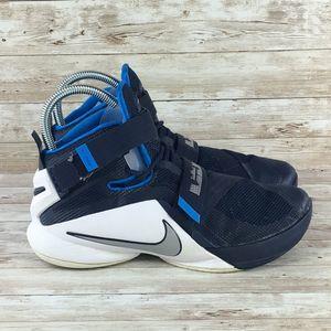Nike Lebron James Soldier IX Mens 8 Blue